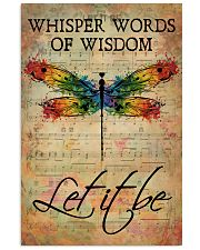 LGBT Let It Be 16x24 Poster front