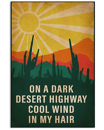 Camping On A Dark Desert Highway