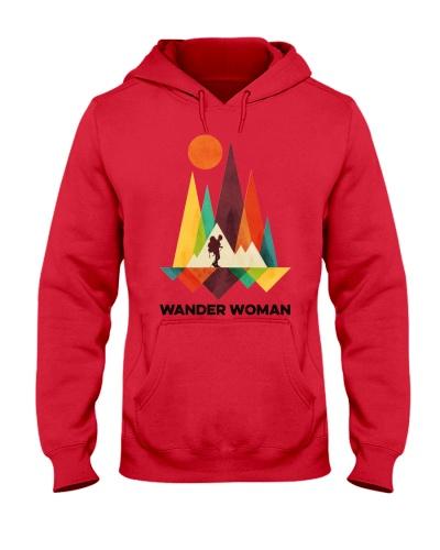 Hiking Wander Woman