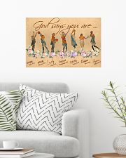 Basketball God Says You Are 24x16 Poster poster-landscape-24x16-lifestyle-01
