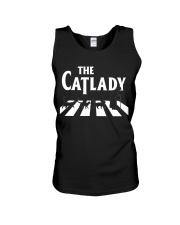 The cat lady Unisex Tank thumbnail