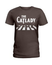 The cat lady Ladies T-Shirt thumbnail