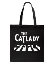 The cat lady Tote Bag thumbnail