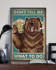 Camping Don't Tell Me What To Do 16x24 Poster lifestyle-poster-2