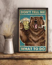 Camping Don't Tell Me What To Do 16x24 Poster lifestyle-poster-3