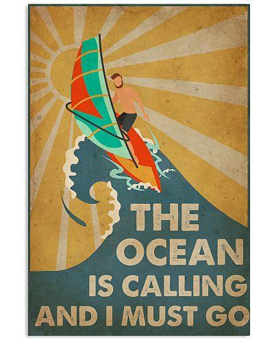 Windsurfing The Ocean Is Calling