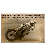 Racing If Everything Is Under Control 24x16 Poster front