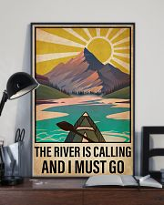 Kayaking The River Is Calling 16x24 Poster lifestyle-poster-2