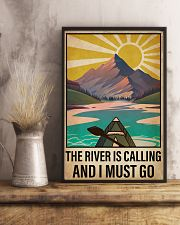 Kayaking The River Is Calling 16x24 Poster lifestyle-poster-3