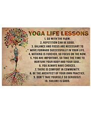 Yoga Life Lessons 36x24 Poster front