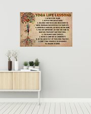 Yoga Life Lessons 36x24 Poster poster-landscape-36x24-lifestyle-01