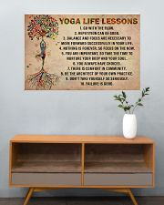 Yoga Life Lessons 36x24 Poster poster-landscape-36x24-lifestyle-21
