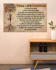 Yoga Life Lessons 36x24 Poster poster-landscape-36x24-lifestyle-22