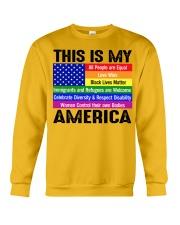 This is my america Crewneck Sweatshirt thumbnail