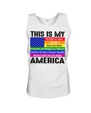 This is my america Unisex Tank thumbnail