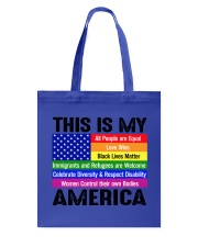 This is my america Tote Bag thumbnail