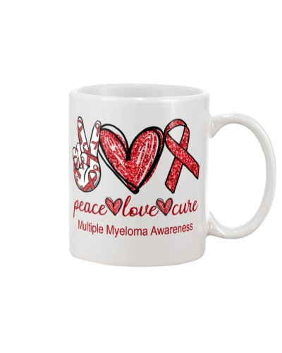 Myeloma Peace Love Cure: Printed