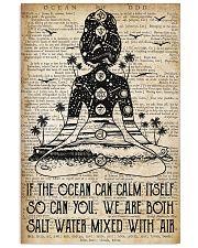 Ocean Can Calm Itself 16x24 Poster front