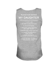 Rules for Dating My Daughter Unisex Tank thumbnail