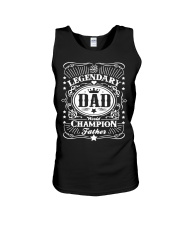 Legendary Dad Unisex Tank thumbnail