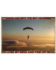 Parachuting Find My Soul 36x24 Poster front