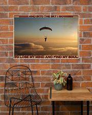 Parachuting Find My Soul 36x24 Poster poster-landscape-36x24-lifestyle-20