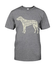Life is better with rhodesian ridgebacks around Classic T-Shirt tile