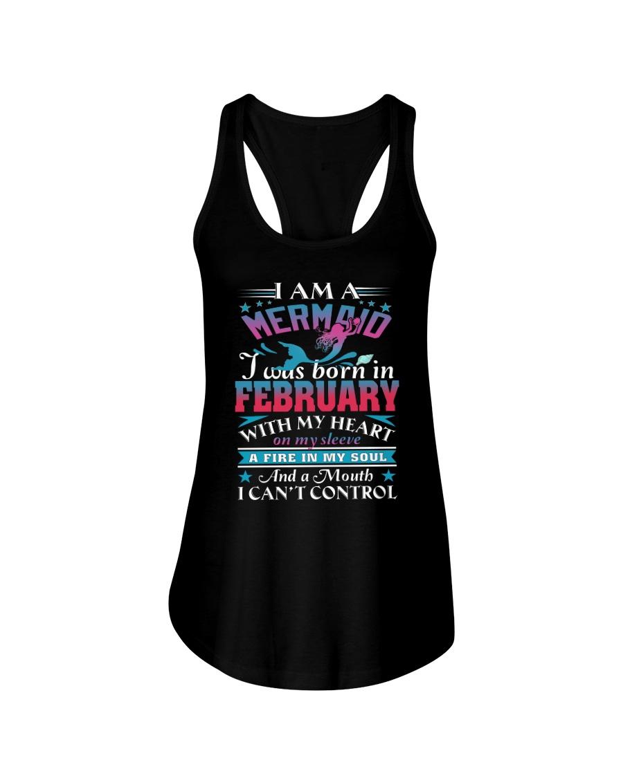 I am a mermaid Ladies Flowy Tank
