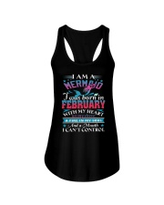 I am a mermaid Ladies Flowy Tank front