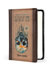 And Into The Forest I Go To Lose My Mind Medium - Leather Notebook front