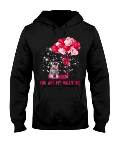 Dog Schnauzer You Are My Valentine