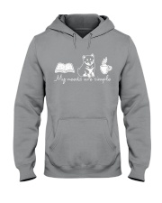 My needs are simple Hooded Sweatshirt tile