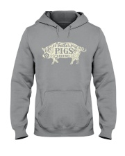 Life is better with pigs around Hooded Sweatshirt thumbnail