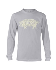 Life is better with pigs around Long Sleeve Tee thumbnail