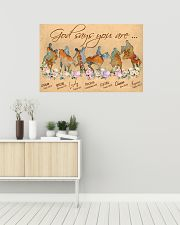 Horse God Says You Are 36x24 Poster poster-landscape-36x24-lifestyle-01