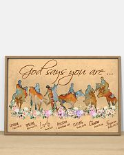Horse God Says You Are 36x24 Poster poster-landscape-36x24-lifestyle-03