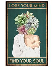Garden Lose Your Mind Find Your Soul 16x24 Poster front