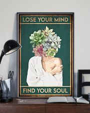 Garden Lose Your Mind Find Your Soul 16x24 Poster lifestyle-poster-2