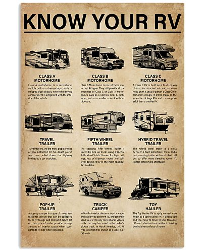 Camping Know Your RV