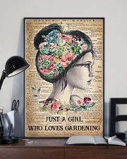 Garden Just A Girl 16x24 Poster lifestyle-poster-2