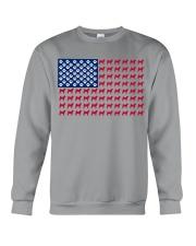 shiba inu flag Crewneck Sweatshirt thumbnail