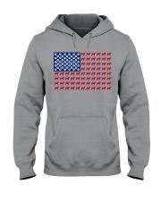 shiba inu flag Hooded Sweatshirt thumbnail