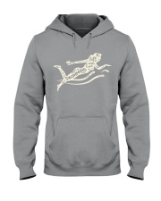 Life is better when i'm swimming Hooded Sweatshirt thumbnail