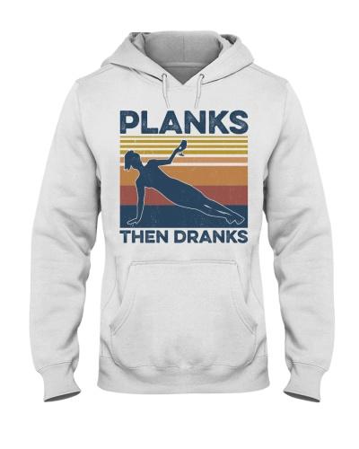 Gym Planks Then Dranks