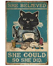 Cat She Believed She Could 16x24 Poster front