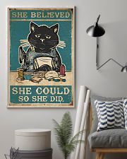 Cat She Believed She Could 16x24 Poster lifestyle-poster-1