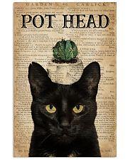 Garden Pot Head 16x24 Poster front