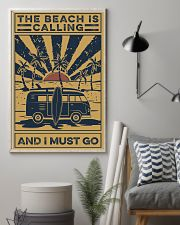 Surfing The beach Is Calling 16x24 Poster lifestyle-poster-1