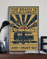 Surfing The beach Is Calling 16x24 Poster lifestyle-poster-2