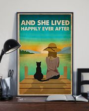 Cat Happily Ever After 16x24 Poster lifestyle-poster-2